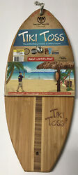Tiki Toss Original Hook And Ring Game Set - 100 Bamboo With All Hardware