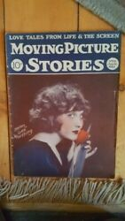 Rare June 16 1925 Moving Picture Stories W Helen Lee Worthing Cover