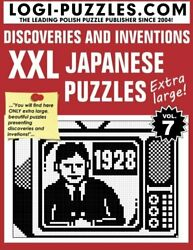 Xxl Japanese Puzzles Discoveries And Inventions By Logi Puzzles Paperback