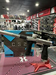 Hk Army Invader Geo Cs2 Pro Paintball Gun - Pewter /silver Pure