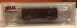N Scale Atlas 50001163 40' Ps-1 Box Car Western Pacific Rd 21223 New