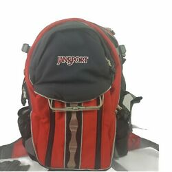 Jansport Polaris 33 Discontinued Red And Black Camping Backpack