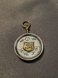 Waxing Poetic Your Heart Is Your Map Pendant Spread Love- Discontinued.andnbsp
