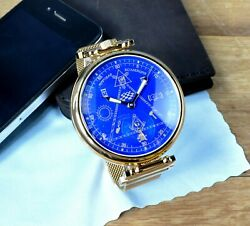 Limited Edition Marriage Mens Wrist Watch Mason Open Face 18 Jewels 3602