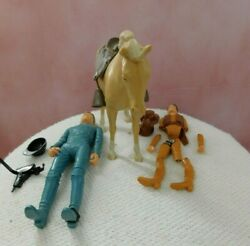 Vintage Marx Johnny West Lot With Horse