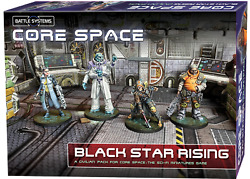 Core Space Black Star Rising Expansion - Battle Systems Scifi Game Preorder Thg