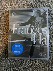 Frances Ha Criterion Collection Blu-ray Sealed