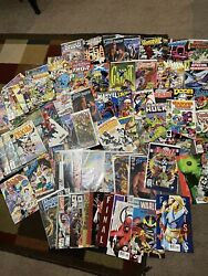 Lot Of 90 Marvel Dc Image Comic Books . X-men Spawn Avengers And More
