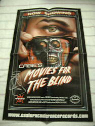 Cage Movies For The Blind Signed Poster