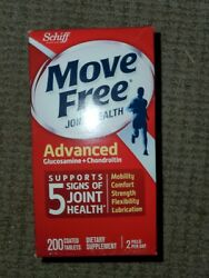 Schiff Move Free Jointhealth Advanced Glucosamine+chondroitin 200 Tabs Exp 11/21