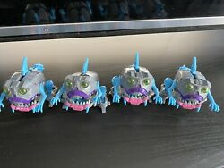 Transformers Titans Return Gnaw Lot Of 4. 100 Complete