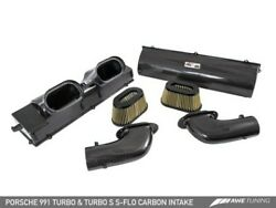 Awe Tuning S-flo Carbon Intake System Fits 2014-2019 Porsche 911