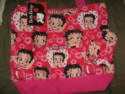 Betty Boop Handbag, Tote Bag, Diaper Bag With Attached Purse, Brand New