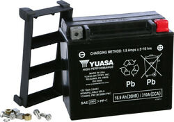 H-p Factory Activated Agm Maintenance Free Battery Ytx20hl-pw Yamaha Fx140 02-04