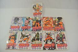 Naruto Japanese Manga Book Lot Of 11 Jump Comics Black And White Excellent Cond.