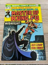 Special Marvel Edition 16 - 2nd Masters Of Kung Fu Fn+