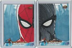 2019 Ud Spiderman And Night Monkey Far From Home Sketch Cards Hand Drawn 1/1