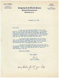 Kennedy John F. 1917-1963 - Content Typed Letter Signed With Handwritten Add.