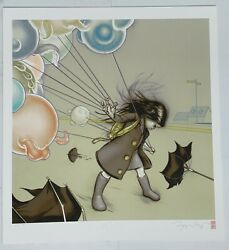 James Jean Supertron 2009 Rare Signed Giclee Print Sold Out