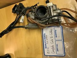 Used 2010 Kawasaki Kx250f Carburettor/ Carb With Cables Pt 15004-0076