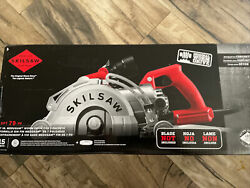 Skilsaw Medusaw 7 In. 15-amp Worm Drive Circular Saw For Concrete Spt79-00