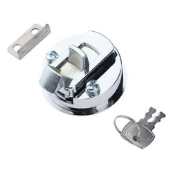 Boat Marine Stainless Locking Lift Ring Hatch Or Cabinet Pull Latch And Keys