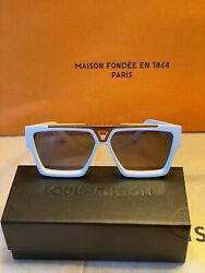 Louis Vuitton Lv 1.1 Evidence Sunglasses Z1503w White Gold Sunglasses Sold Out