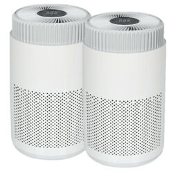 Two Ionic Air Purifier Fresh Ions Breeze Pro Ionizer Uv Air Cleaner Hepa Filter