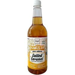 The Skinny Food Co. Barista Salted Caramel Coffee Syrup 1ltr, Pack Of 4