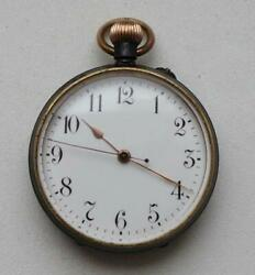 Longines Pocket Watch Swiss Watch With Central Second Hand 35 Mm