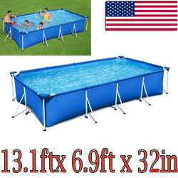 Bestway-13.1ftx6.9ftx32in Rectangular Above Ground Swimming Pool 4m2.11m81cm