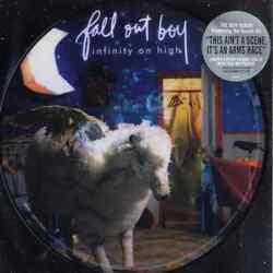 Fall Out Boy – Infinity On High 2007 Island Records Vinyl Picture Disc New Lp