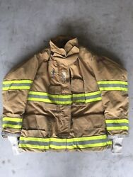 Firefighter Globe Turnout Bunker Coat 46x32 G-xtreme 2006 No Cut Out
