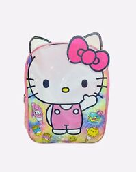 """Sanrio Hello Kitty 15"""" Pink Backpack School Supplies For Girls Toddlers Kids $14.99"""