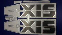 Axis Boat Emblems 40 Carbon + Free Fast Delivery Dhl Express
