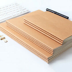 Simple Craft Paper Cover Vintage Journal Notebook Paper Writing Diary Planner