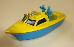 Matchbox Superfast No. 52b Police Launch Pre-production/colour Trial Yellow/blue