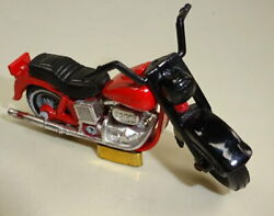 Matchbox Superfast No. 50c Harley Davidson Pre-production/colour Trial In Red