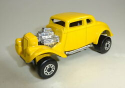 Matchbox Superfast No. 69d '33 Willys Hot Rod Pre-production In Yellow