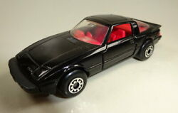 Matchbox Superfast No. 77 Mazda Rx-7 Pre-production In Black With Red Interior