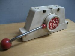 Vintage Teleflex Control Box Boat Shifter For Parts Or Repair A