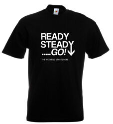 Ready Steady Go 60and039s Tv T Shirt Beatles Stones Who 12 Colours S - 5xl