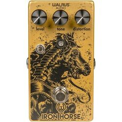 Walrus Audio Iron Horse V2 Distortion Effects Pedal Ln