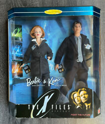 1998 Mattel Barbie Ken The X-files Set Scully And Mulder