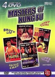Collectible 4 Films On 2 Dvd's Action Pack Masters Of Kung Fu Dvd, 2006