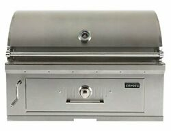 Coyote 36 Inch Built-in Charcoal Grill- C1ch36