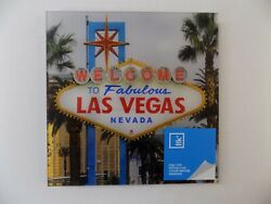 Peter Lik Welcome To Las Vegas Sign Photo Acrylic W/wall Mount Oop Nos Last One