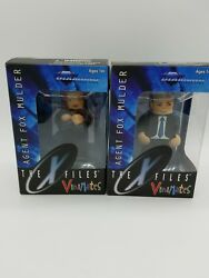 Misprint Diamond Select The X Files Vinimates Agent Scully And Mulder Figures New