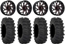 Fuel Runner 18 Wheels Red 33 Xm310 Tires Can-am Renegade Outlander