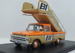 Ford F-100 Braniff International Airport Stairs Truck By Goldvarg Collection